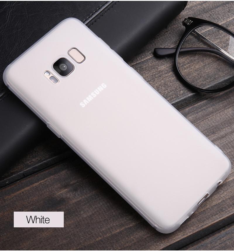 Cafele miękka tpu case do samsung s8/s8 plus sprawach slim powrót protect skóry ultra thin telefon pokrywa dla samsung galaxy s8 plus 16