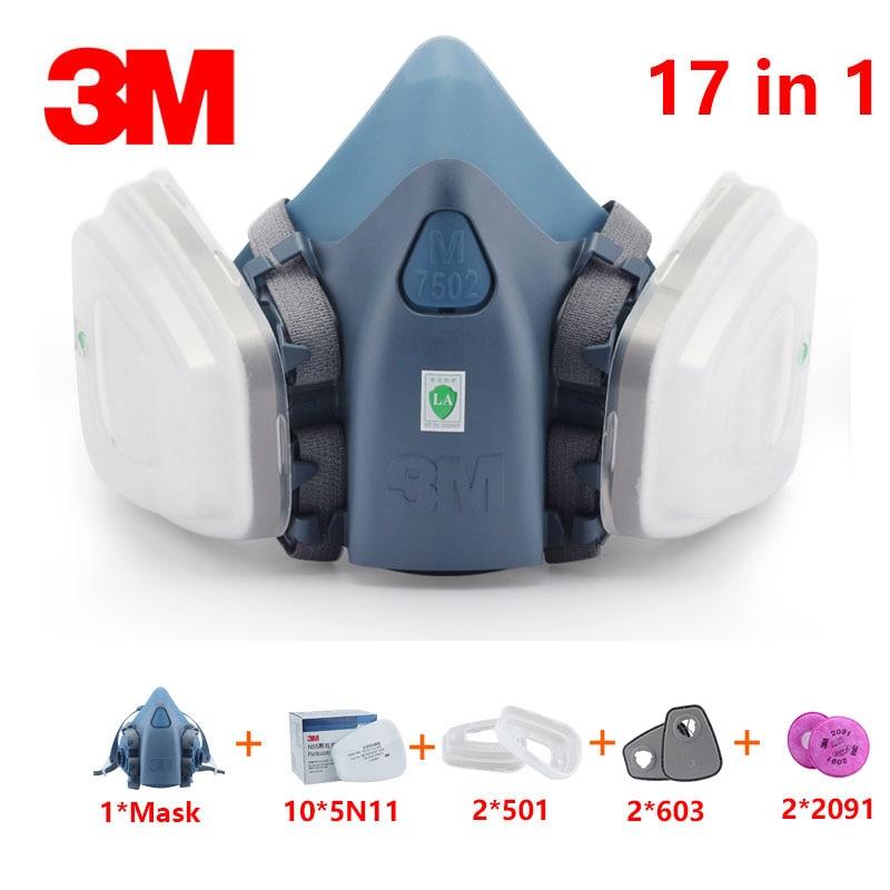 3m 6200/7502 maschera