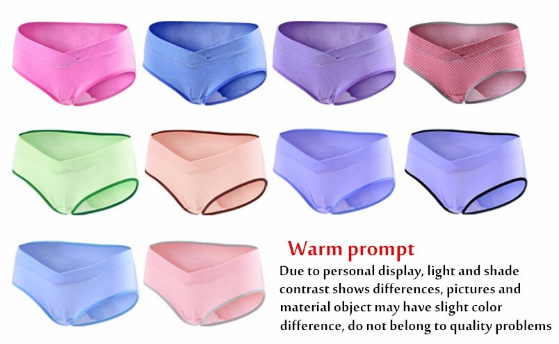 Underwear ztov 3 sztuk/partia bawełna ciąży macierzyństwa kobiet majtki kobiet w ciąży ubrania w kształcie litery u niskiej talii majtki m l xl xxl k11 11