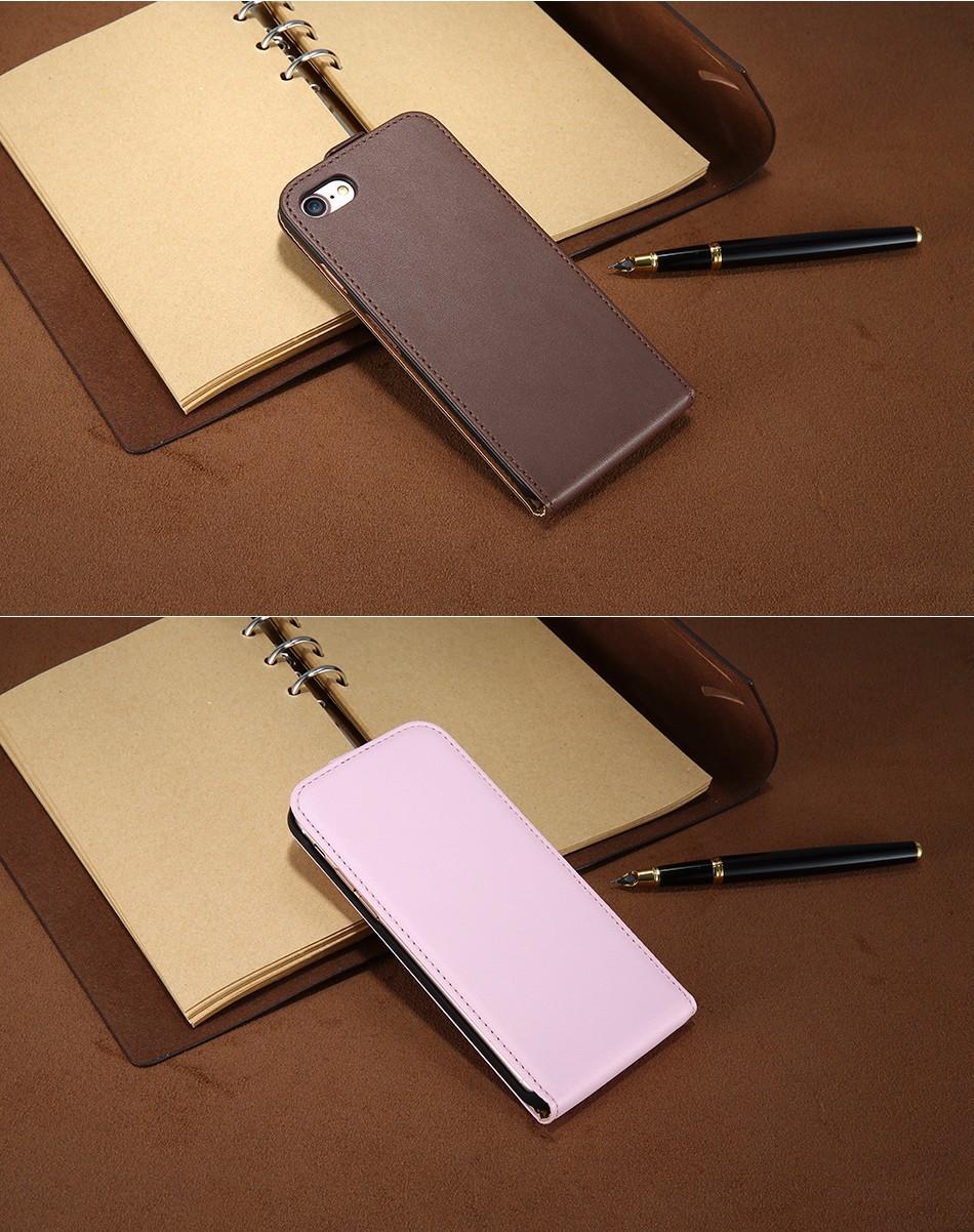 Kisscase retro 100% pu leather case for iphone 4 4s 5s 5 se 6 7 luksusowe pionie magnetic przerzucanie phone bag pokrywa dla iphone 4s 5s 11