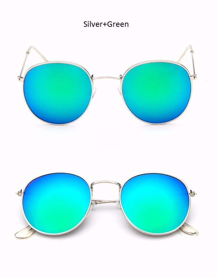Vintage Round Mirror Sunglasses 21