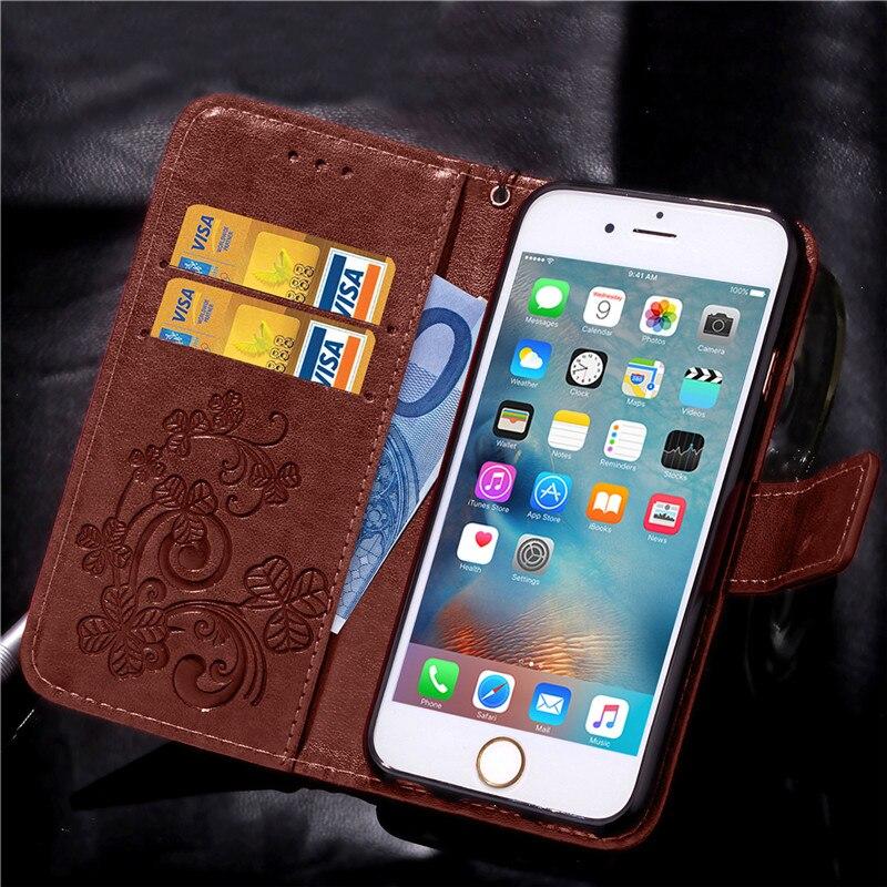 Dla iphone 7 plus 4S 5S 4 5 6 s skórzane etui z klapką case do samsung galaxy a3 a5 j3 j5 2016 j1 s6 s7 s3 s4 s5 mini grand prime pokrywa 25