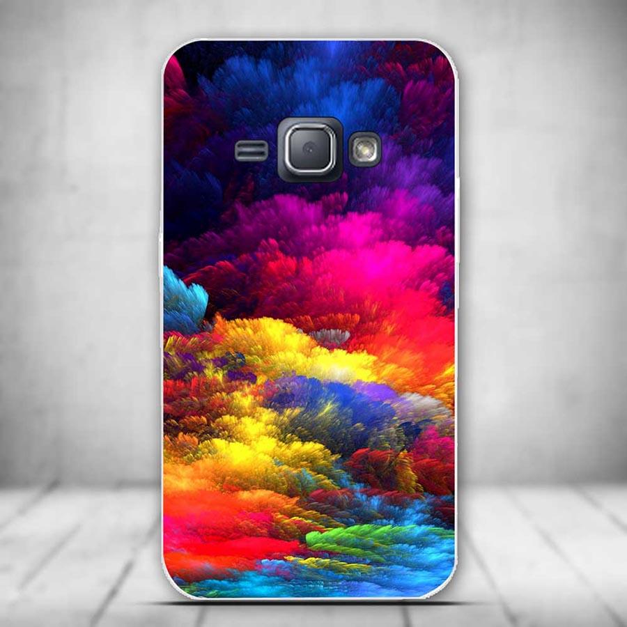 Nowy do samsung galaxy j1 2016 case miękkiego silikonu tpu powrót telefon pokrywa case do samsung galaxy j1 j 1 j120 j120f coque funda 9