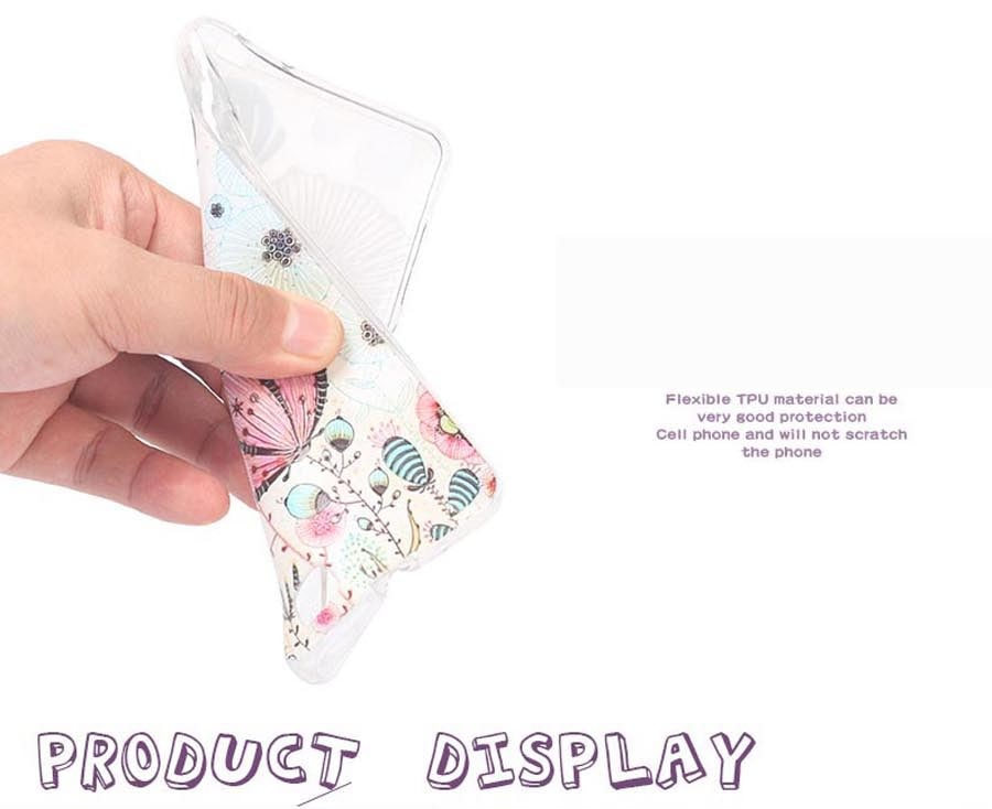 """Case Miękka TPU Luksusowe 3D Ulga Druk Pokrywy Skrzynka Dla LG K8 Lte K350 K350E K350N 5.0 """"K 8 Telefon Powrót Silicon Pokrywa Bag Sprawach 2"""