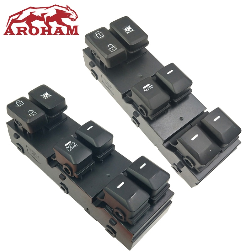 Left Side Power Window Main Switch OE:935703W300WK Fit For Kia Sportage 11-15 Interior Car & Truck Parts