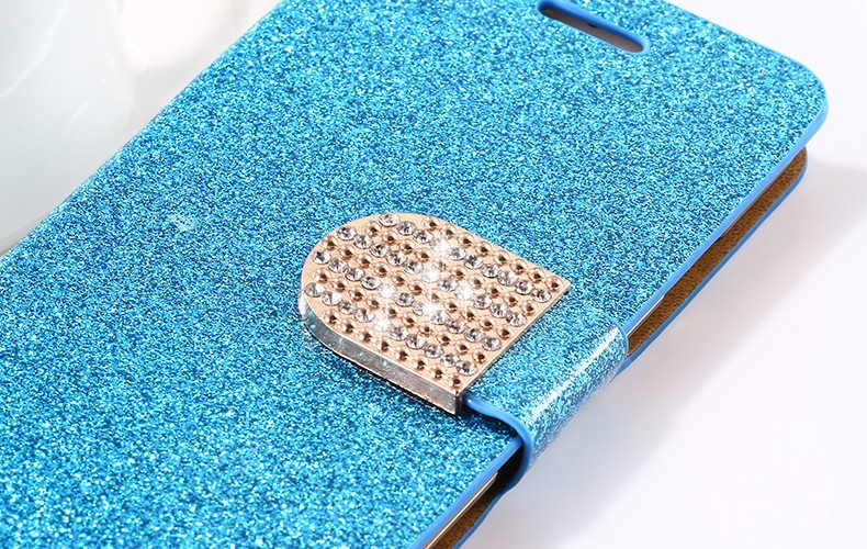 Dla iphone 6 6s plus 7 plus cover glitter bling kryształ diament skórzany portfel case do samsung galaxy s6 edge plus s7 edge torby 19