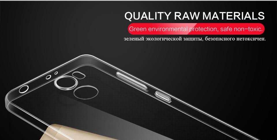 Pzoz xiaomi redmi 4 case silikonowy pokrowiec oryginalny xiaomi redmi 4 pro slim przejrzystą ochronę soft shell 4x redmi redmi 4A 9
