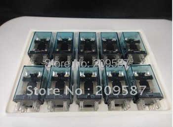 10set 220V AC Coil Power Relay MY2NJ HH52P-L 8PIN 5A With PYF08A