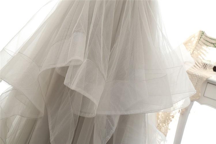 Off The Shoulder Tulle Long Evening Elegant Dress 6