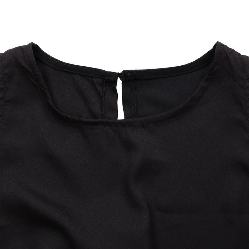 Zanzea marka 2017 lato eleganckie damskie pajacyki kombinezon casual solidna body przebrania crew neck bez rękawów długa plus size 10