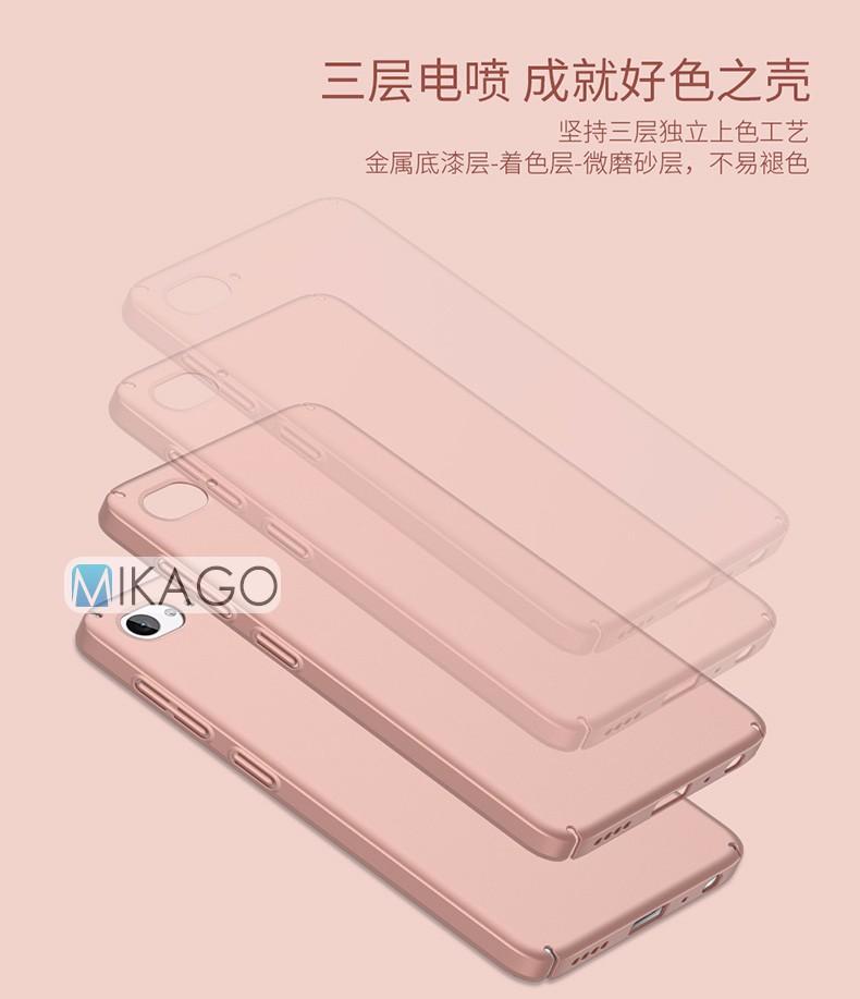 Pełna pokrywa plastikowa powłoka 5.0for zuk z2 case dla lenovo zuk z2 telefon komórkowy back cover case 4
