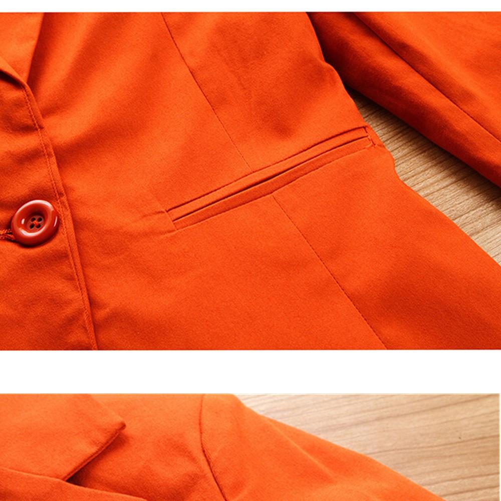 2017 w nowym stylu mody OL eleganckie kobiety pant suits formalna firm garnitur nosić pełne rękawem jednego przycisku femme blazer garnitur szczupła kurtka 7