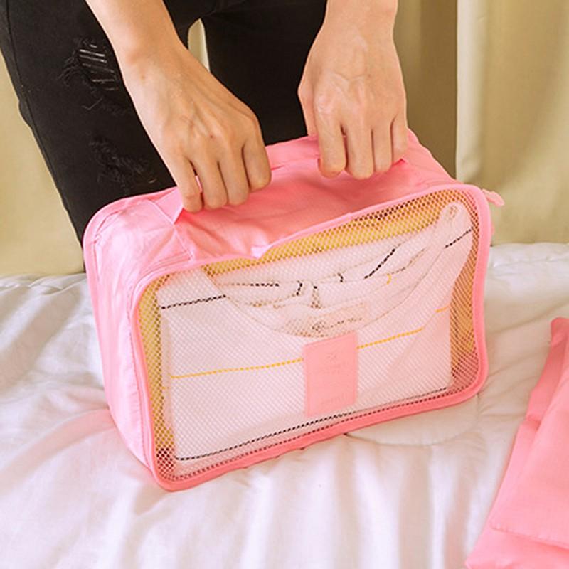 - HTB1DWuMOXXXXXaAXpXXq6xXFXXXl - 6-Pieces Travel Bag Organizer Set.