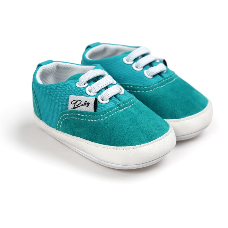 Wiosna Jesień Dziecko Noworodka Dziewczynka Chłopiec Miękkie Podeszwy antypoślizgowe Maluch Prewalker Niemowląt Sneaker Buty Na Co Dzień 17