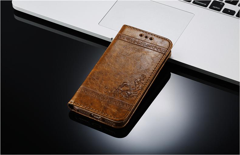 Skórzane etui z klapką telefon case for iphone 7 plus 6 s plus 5S 4S samsung galaxy S3 S4 S5 S6 S7 S8 Krawędzi Plus Uwaga 3 4 5 Karty Telefon torby 10