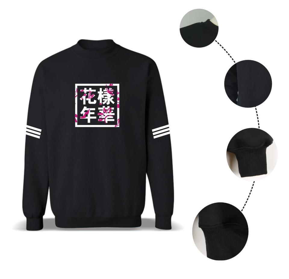 Kpop BTS Bangtan Boys LUCKYFRIDAYF Kobiety bluzy bluzy z kapturem Bluzy List Wydrukowano w J-HOPE 94 i SUGA 93 Kobiety Bluzy JUNG GŁUPIEGO 97 14