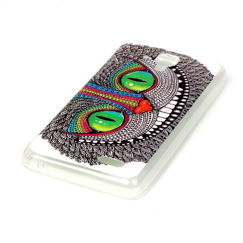 Lenovo A536 Case Ultra Thin Miękkiego Silikonu TPU Case dla Lenovo Z 536 Telefon komórkowy Protective Back Cover Case Drop wysyłka 34