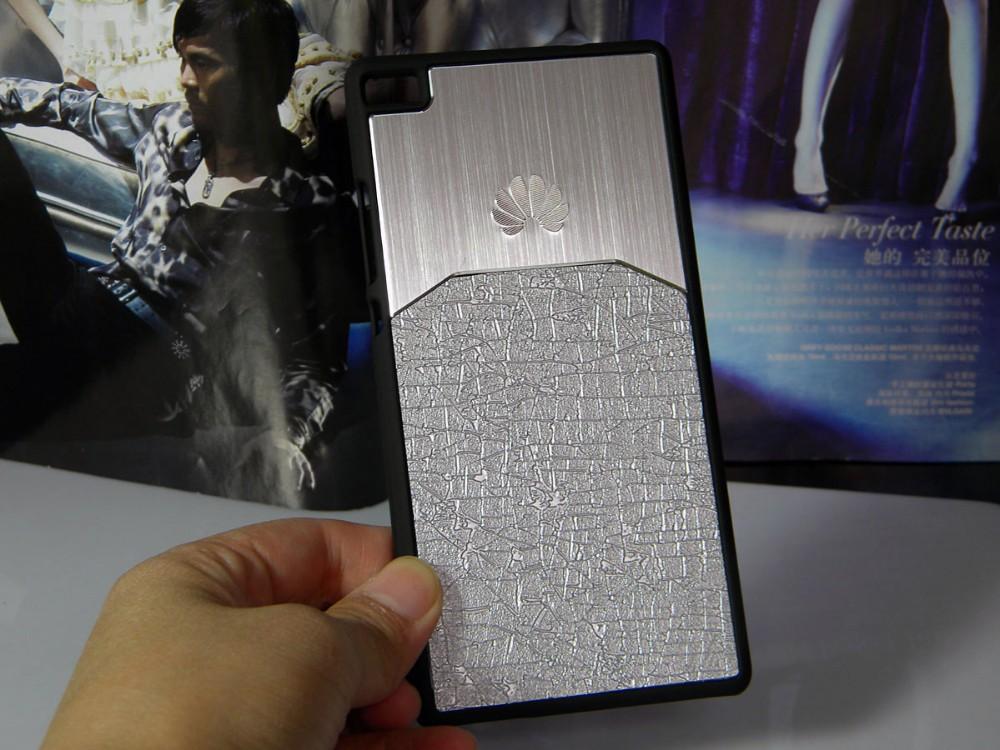 Dla huawei p8 lite case p9 lite plus honor 8 p9 pokrywy hybird Szczotkowanego aluminium Metal z Luksusowych Skóry materiał darmowa wysyłka 8