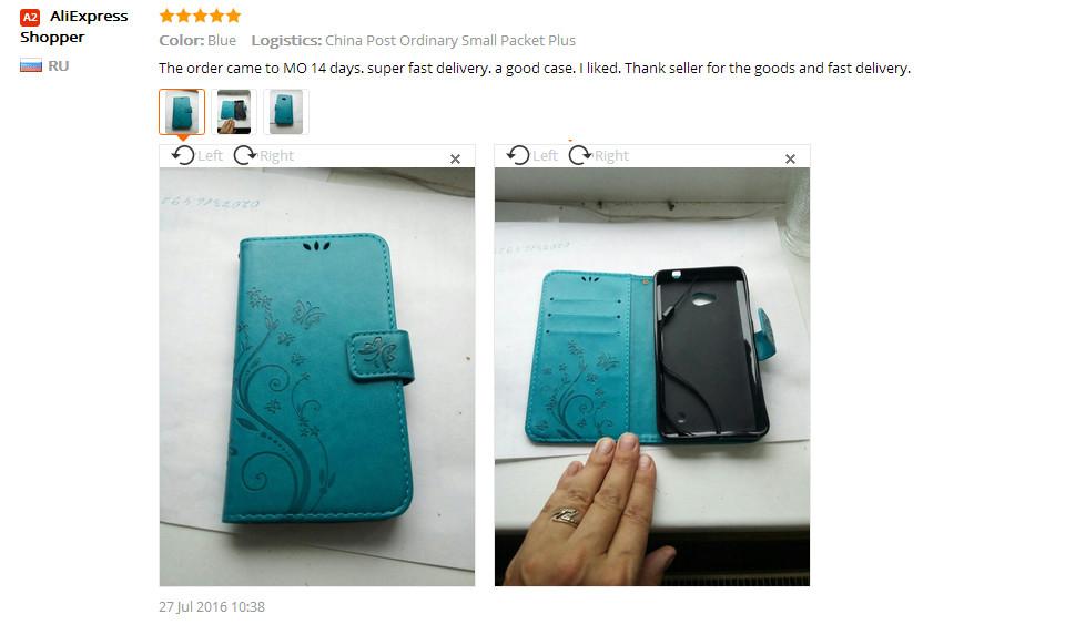Dla microsoft nokia lumia 640 lumia 630 lumia 550 worek nadrukowane butterfly pu wizytownik skórzany telefon okładka case shell 22