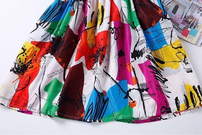 Sexy kobiety chiffon dress sundress plaża floral bez rękawów tank mini sukienki vestido 38