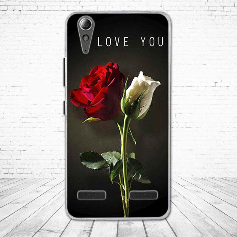 """Miękkiego silikonu case wydrukowano phone tylna pokrywa dla lenovo a6010 & a6000 & dla lenovo lemon k3 k30-t skóry pokrywa 5 """"K 3 A 6000 6010 20"""