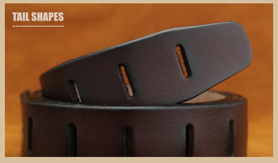 [Miluota] pasy designer mężczyźni wysokiej jakości prawdziwy skórzany pas dla mężczyzn luksusowe ceinture homme military style 130 cm mu012 15