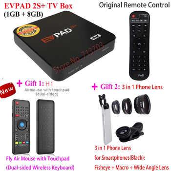 EVPAD PLUS PRO+ 2S+ IPTV Android Smart TV Box: 1150+ Korea Japan