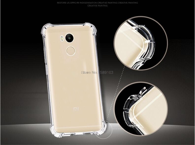 Slim fit cienkie anti-scratch soft skin silikonowy tpu case dla xiaomi redmi 4 pro/prime mi6 mi5c mi5s plus pokrywa redmi note 4x 4A 8