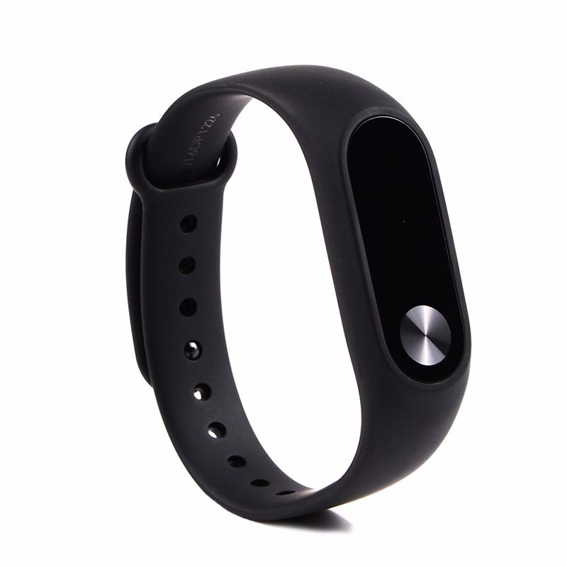 Oryginalny xiaomi mi kompania 2 miband bransoletka wistband inteligentnego tętno fitness ekran oled wyświetlacz dla iphone 7 touchpad bluetooth 12