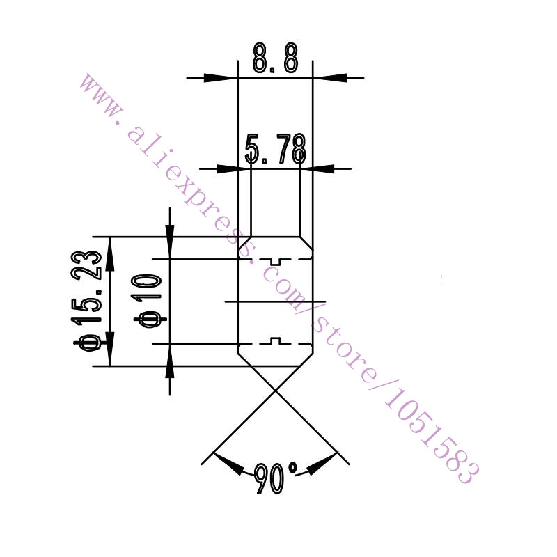 10pcs Openbuilds V Slot Linear Extrusion Wheels Delrin