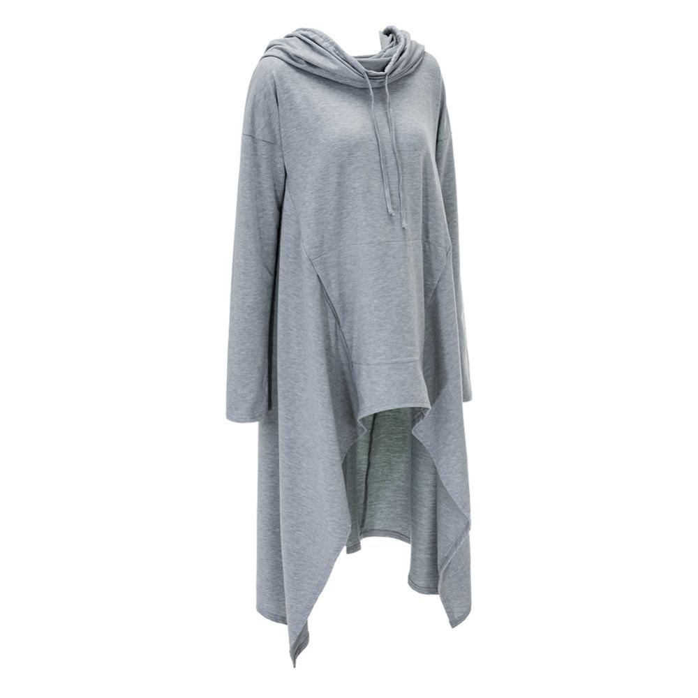 Preself Oversize Sweter Z Kapturem Bluza Kobiety Hoody Blaty Kobiet Luźna Z Długim Rękawem Płaszcz Z Kapturem Na Co Dzień Znosić Pokrywa Swetry Ubrania 20