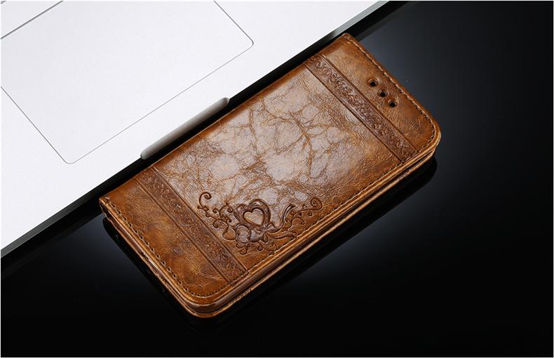 Skórzane etui z klapką telefon case for iphone 7 plus 6 s plus 5S 4S samsung galaxy S3 S4 S5 S6 S7 S8 Krawędzi Plus Uwaga 3 4 5 Karty Telefon torby 3