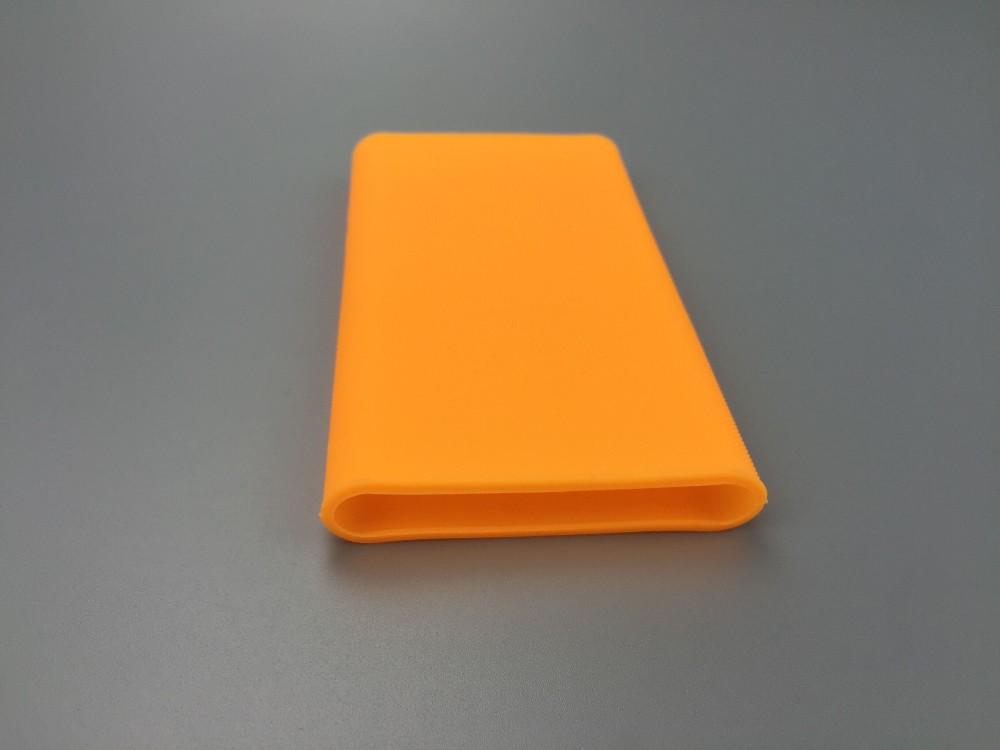 Wysoka jakość xiaomi banku mocy 2 10000 mah case 100% nadające się do mi 2nd generacji mocy banku pokrywa silikonowa case gel rubber case 6
