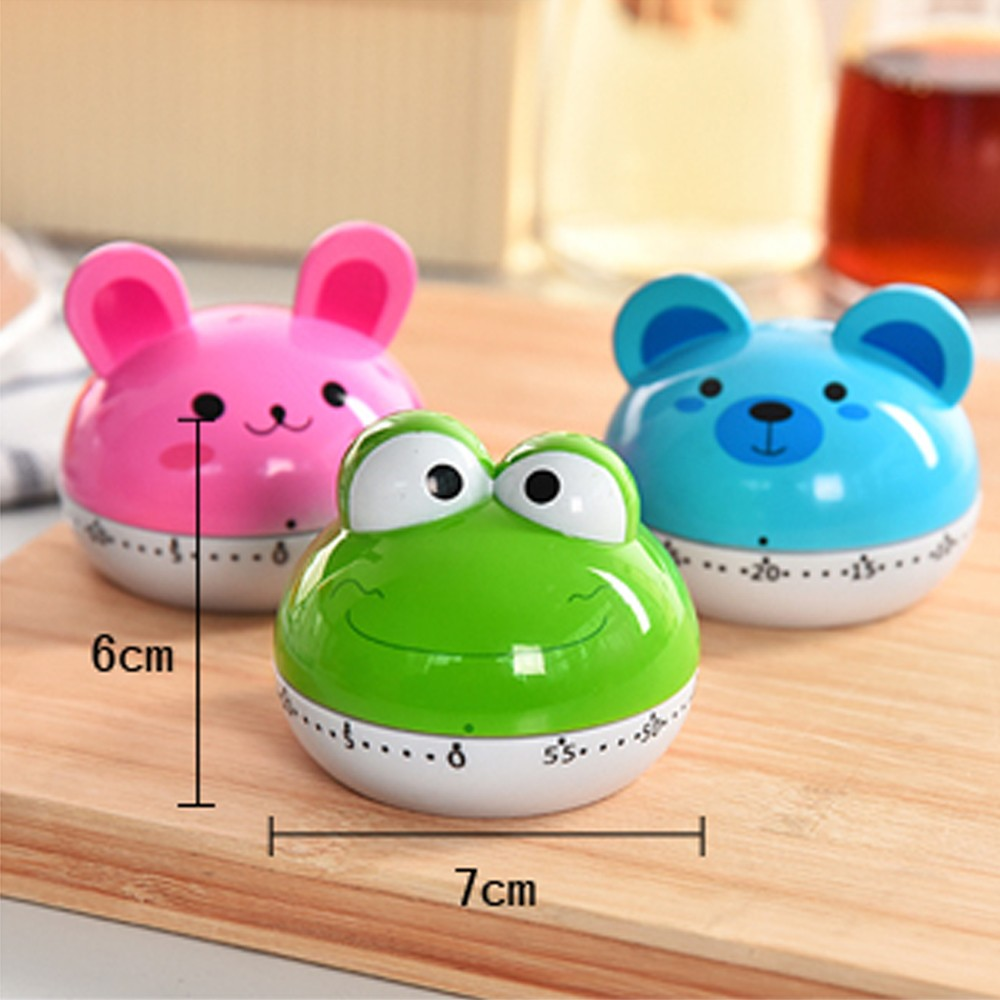 Kitchen Timer  Cute Mechanical  Timer Egg Cooking Countdown Alarm Clock  Essential Kitchen Gadgets HZN1006 kitchen tools