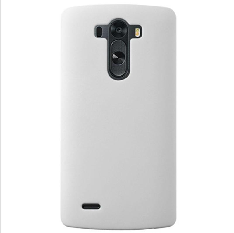 Dla lg g3 case ultra thin matowe matte mocno plecy pokrywa pc tarcza skóry protector telefon komórkowy case do lg g3 d855 d850 d851 9