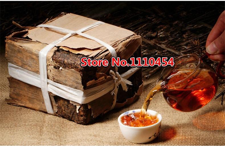 Made In1970 Ripe Pu er Tea 250g Oldest Shu Puer Tea Ancestor Antique Honey Sweet Dull-red Puerh Tea Ancient Tree Pu'er Tea Brick