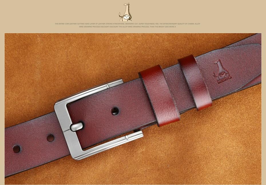 [Miluota] pasy designer mężczyźni wysokiej jakości prawdziwy skórzany pas dla mężczyzn luksusowe ceinture homme military style 130 cm mu012 20