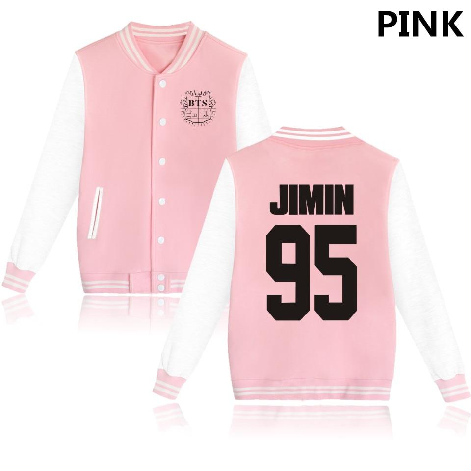 BTS Kpop BTS Bangtan Boys Harajuku Bluzy Kobiety Winter Casual Bluzy Z Kapturem damska Różowa Bluza Plus Rozmiar XXXXL 13