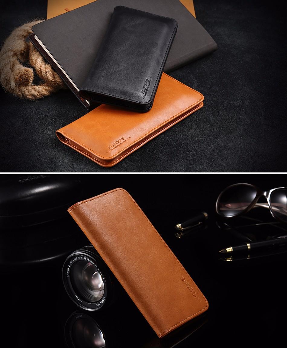 Floveme luksusowe retro skórzany portfel torby phone case do samsung s7 s6 s5 dla iphone 7 6 6 s plus se 5S 5 miękka pokrywa torebka marki 18