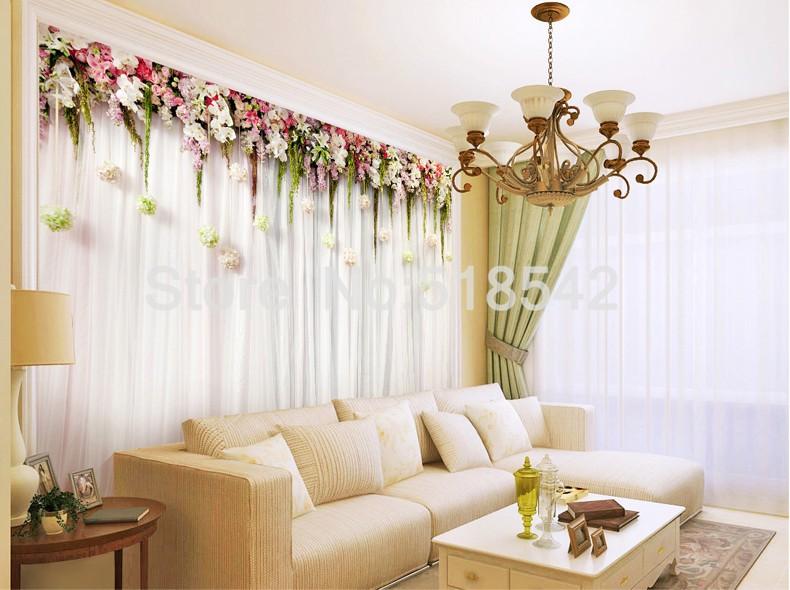 Niestandardowe zdjęcia tapety stereoskopowe 3d europejskiej duszpasterska włókniny mural sypialnia salon tło wystrój domu tapety 8