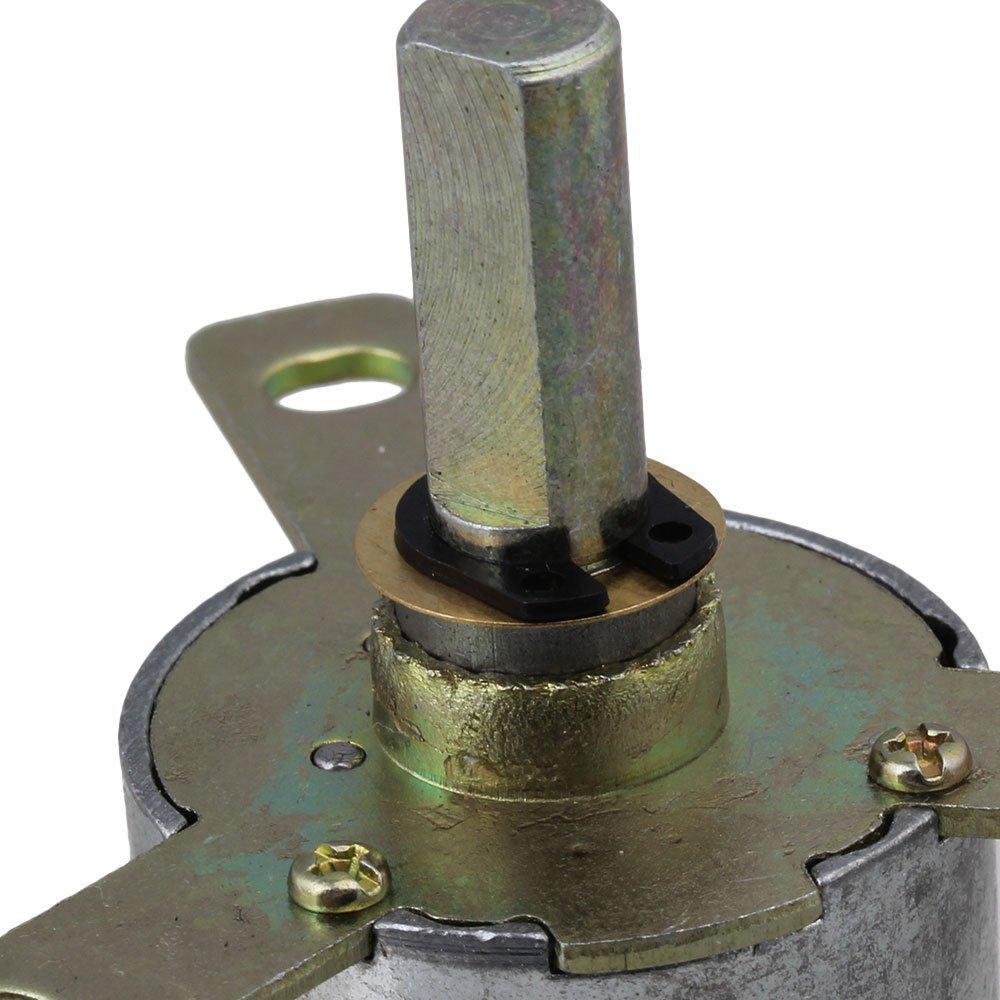 2PCS High Torque 12V DC 25 RPM Gear-Box Stabilivolt Electric Motor Replacement