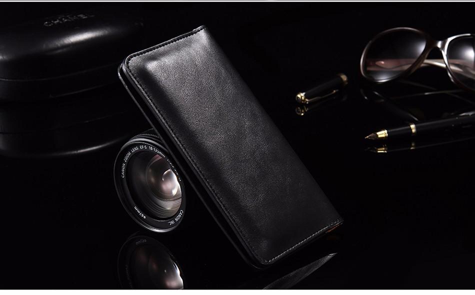 Floveme luksusowe retro skórzany portfel torby phone case do samsung s7 s6 s5 dla iphone 7 6 6 s plus se 5S 5 miękka pokrywa torebka marki 25