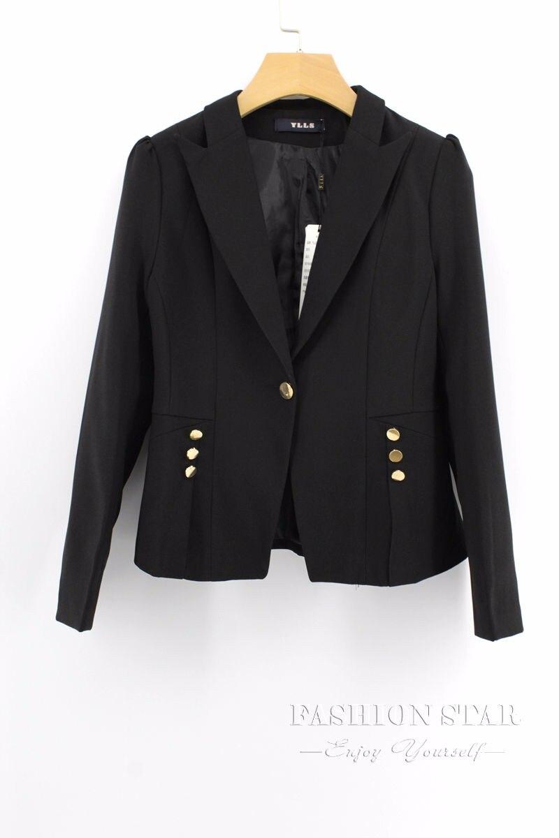 RealShe 2016 Kobiet Kurtki Długi Rękaw Garnitur Marynarka damska Marynarka Casual Mujer Feminina Plus Size Blazer Feminino Kurtki 50