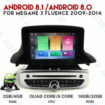 81c824d58 Android 8.0 8.1 carro de rádio CD Player Do Carro Para Renault Megane  Fluence