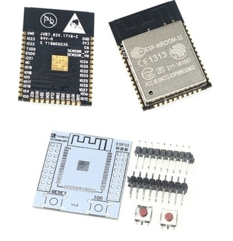 ESP32 ESP-32S ESP-WROOM-32 Original IoT Wifi Wlan BLE Module+Adapter
