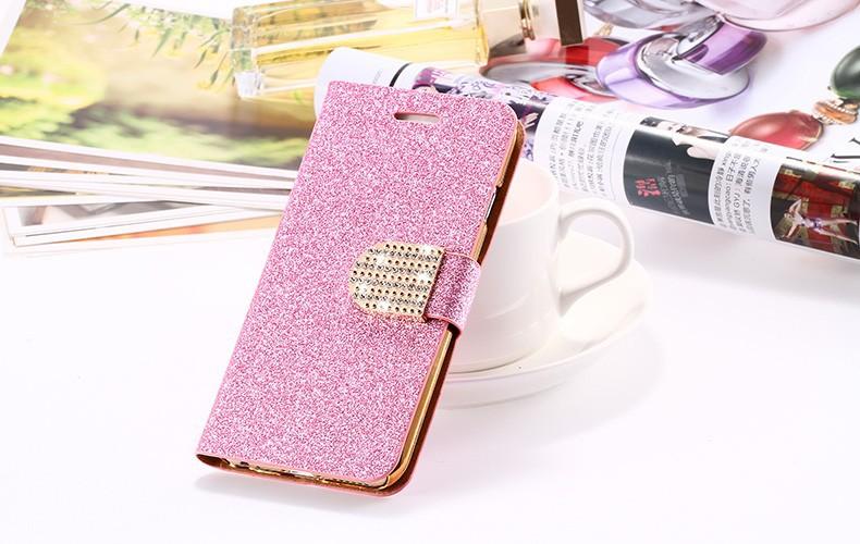 Kisscase dla iphone 5s case glitter bling skórzane etui dla iphone 5 5s se 6 6 s 7 plus stań portfel pokrywa dla iphone 7 7 plus SE 21