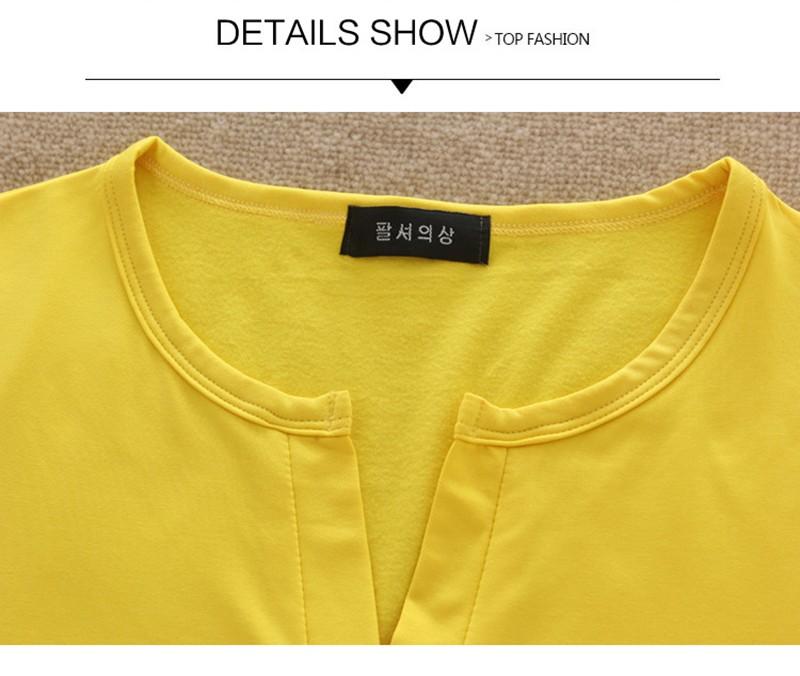 2017 stałe 14 kolory Dekolt Bluzki Sexy Szczupła Dzianiny Długi rękaw chemise femme koreański bluzki dla kobiet koszula clothing góry bluzka 28