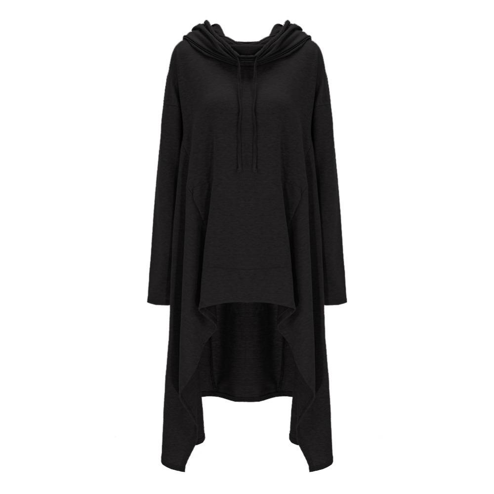 Preself Oversize Sweter Z Kapturem Bluza Kobiety Hoody Blaty Kobiet Luźna Z Długim Rękawem Płaszcz Z Kapturem Na Co Dzień Znosić Pokrywa Swetry Ubrania 22