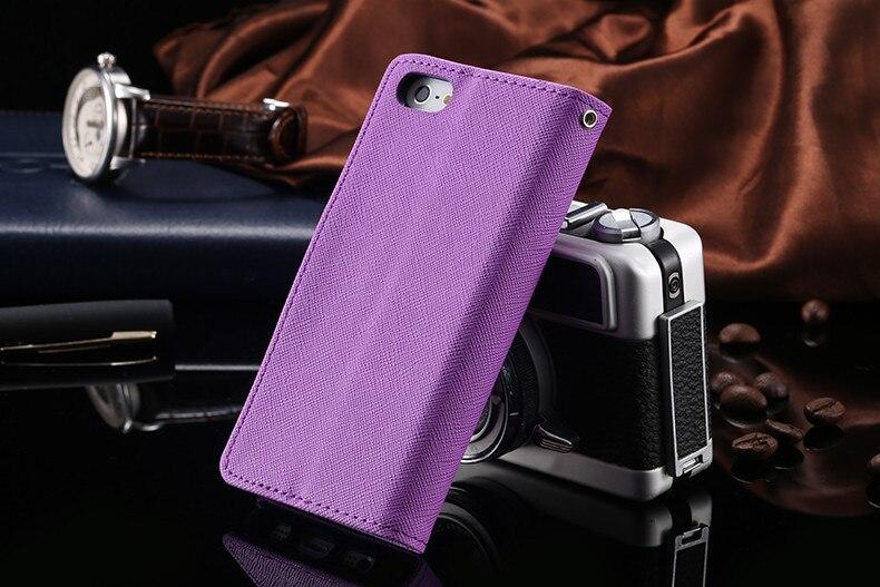 Podwójny kolor klapki skóra telefon torba case dla iphone 6 7 6 s plus 5 5S se gniazda kart + stojak kabura pokrowiec case dla iphone 7 6 6 s 29