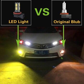 2x H8 H11 9006 HB4 H10 H16 LED Fog Lights Bulb Lamp For Infiniti